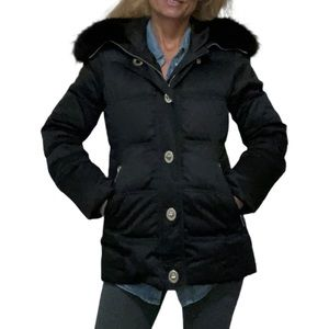 Coach Black 80079 Down Filled Jacket Size XS
